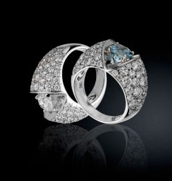 Platinum Diamond Ear Rings